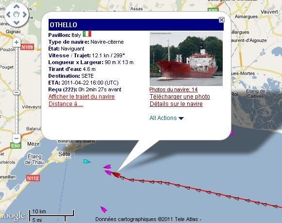 site MarineTraffic