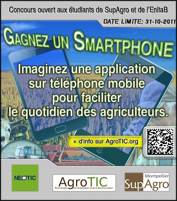 Annonce Concours Smartphone