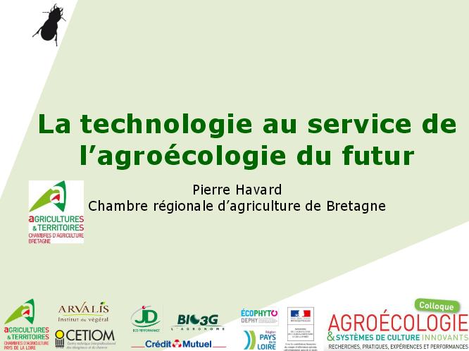technologie et agroecologie