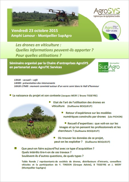 drones viticulture agrotic