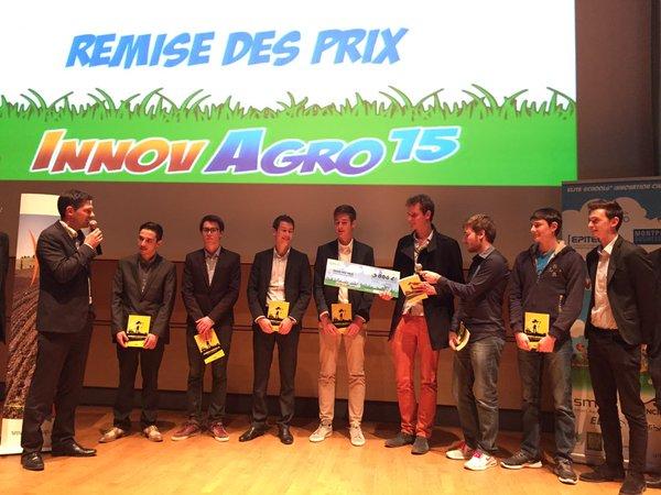 challenge innov'agro 2015 cop21 agriculture numérique