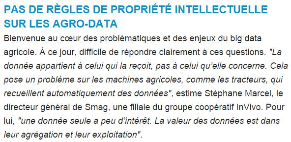Stephane Marcel Big data agricole
