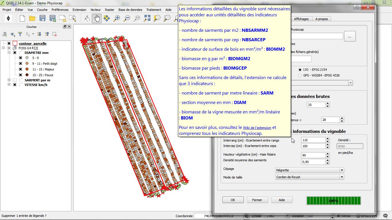 Paramétrage de détails - Documentation Utilisateur - V1.4.0