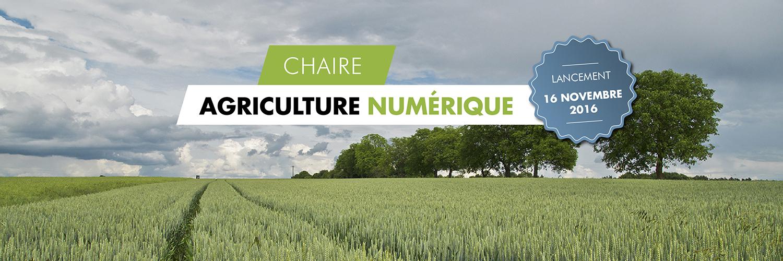chaire agriculture numérique AgroTIC