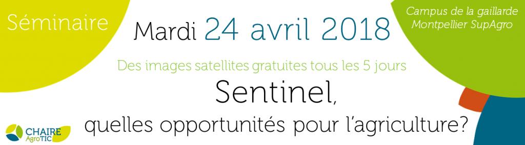 Sentinel agriculture télédétection gratuite