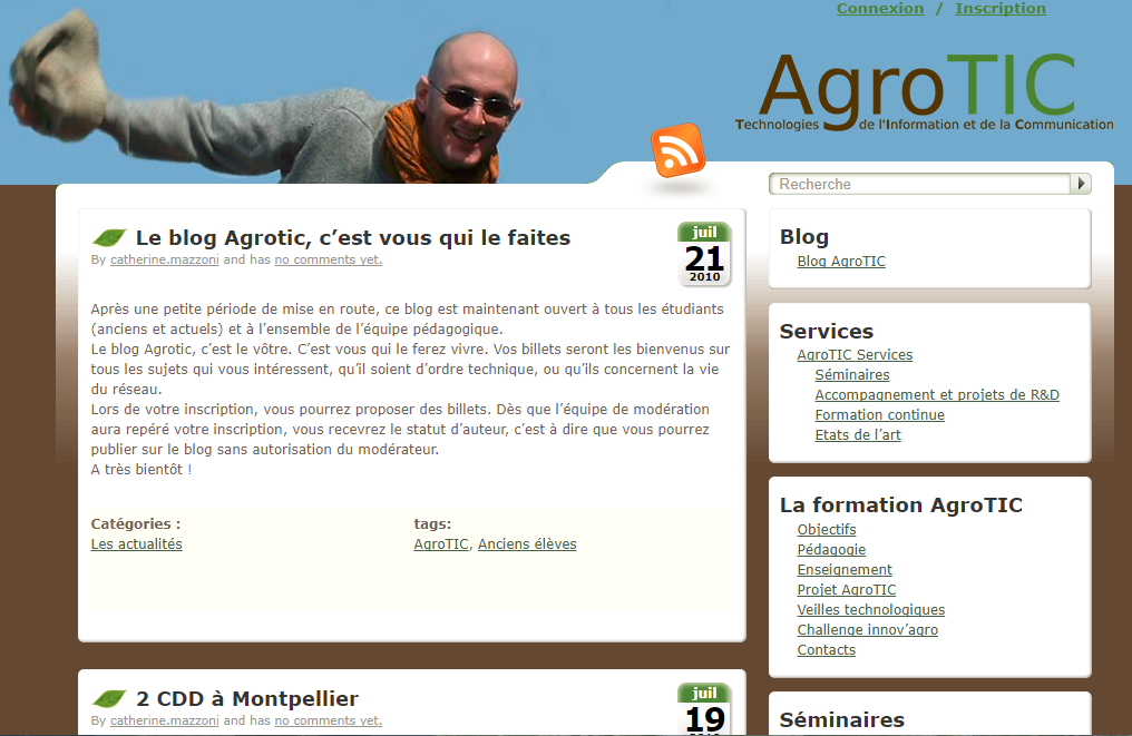 Depuis 2010 un blog pour ne rien rater de l'actualité du numérique agricole
